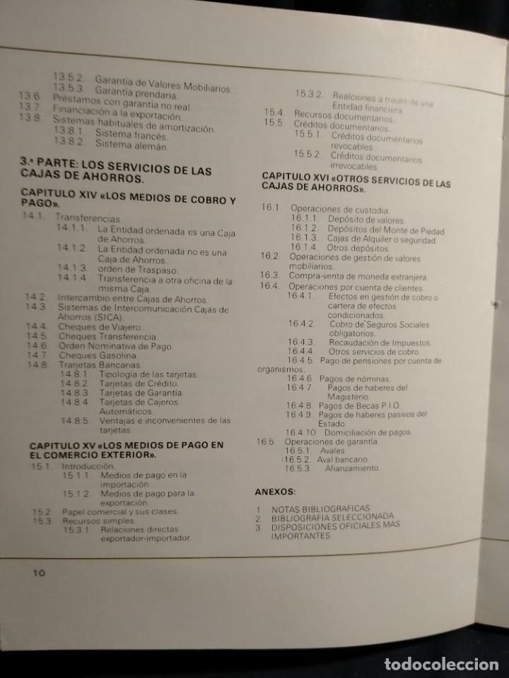 Libros de segunda mano: Las cajas da Ahorros y el sistema financiero. Lb14 - Foto 5 - 227876875