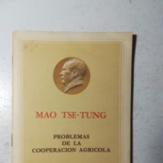 Libros de segunda mano: PROBLEMAS DE LA COOPERACIÓN AGRÍCOLA, MAO TSE-TUNG. EDICIONES EN LENGUAS EXTRANJERAS, PEKÍN 1966. Lote 227885765