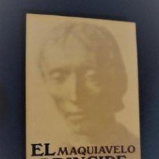 Libros de segunda mano: EL PRÍNCIPE - MAQUIAVELO. Lote 228348925