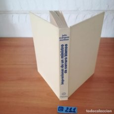 Libros de segunda mano: IMPRESIONES DE UN MINISTRO. Lote 230553215