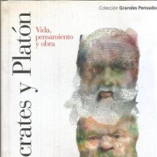 Libros de segunda mano: SÓCRATES Y PLATÓN. VIDA PENSAMIENTO Y OBRAS. COPLESTON, FREDERICK CHARLES. 2007. Lote 232161925