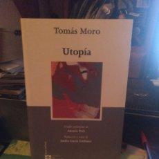 Livres d'occasion: TOMÁS MORO. UTOPÍA. TE NOS 2006. Lote 232897300