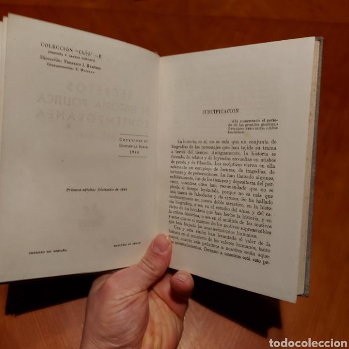 Libros de segunda mano: Ilustrado Secretos de la Historia Política Contemporánea Primera Edición 1944 Surco GAY DE MONTELLÀ - Foto 4 - 234929735