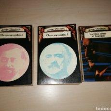 Livres d'occasion: JORGE DIMITROV OBRAS ESCOGIDAS 1 Y 2 + ESCRITOS SOBRE EL FASCISMO. Lote 234949395
