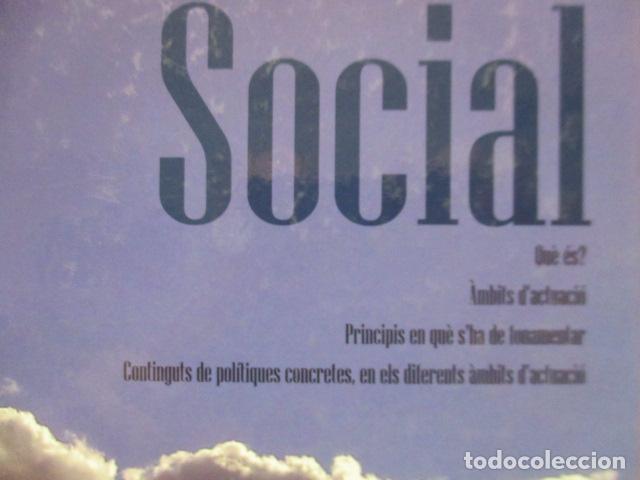 Libros de segunda mano: POLITICA SOCIAL - ANTONI COMAS - DEDICADO Y FIRMADO POR EL AUTOR - COMO NUEVO - Foto 4 - 235200700