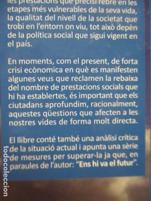 Libros de segunda mano: POLITICA SOCIAL - ANTONI COMAS - DEDICADO Y FIRMADO POR EL AUTOR - COMO NUEVO - Foto 12 - 235200700