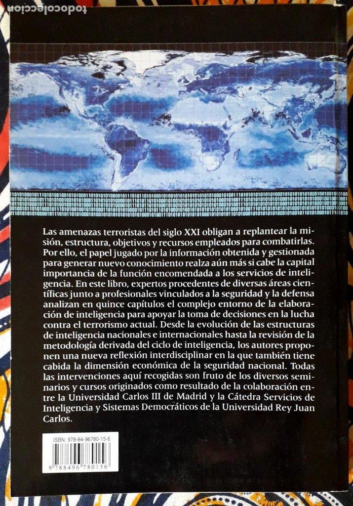 Libros de segunda mano: VV. AA. . Terrorismo global. Gestión de información y servicios de inteligencia - Foto 2 - 235220705
