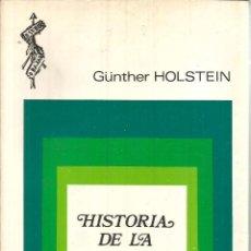 Libros de segunda mano: HISTORIA DE LA FILOSOFÍA POLÍTICA. PUBLICADO EN 1969 - GUNTHER HOLSTEIN. Lote 235938750