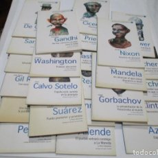 Libros de segunda mano: VV.AA LAS VOCES DE LA DEMOCRACIA ASÍ HABLAN LOS GRANDES POLÍTICOS (MONOGRÁFICOS) W5186. Lote 236078795