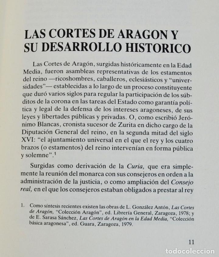 Libros de segunda mano: Gerónimo Martel. Forma de Celebrar Cortes en Aragón. Edición Facsímil. Cortes de Aragón 1984 - Foto 5 - 236353805