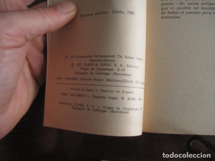 Libros de segunda mano: Esther Vilar - Modelo para un nuevo machismo - Foto 2 - 236516845
