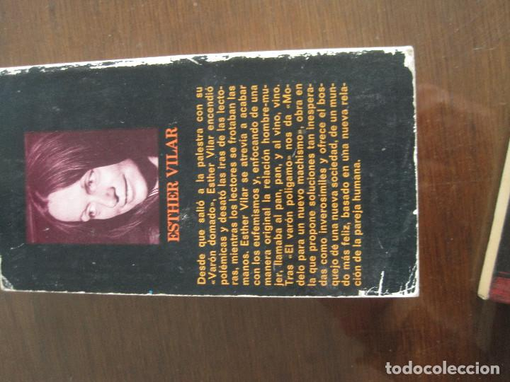 Libros de segunda mano: Esther Vilar - Modelo para un nuevo machismo - Foto 3 - 236516845