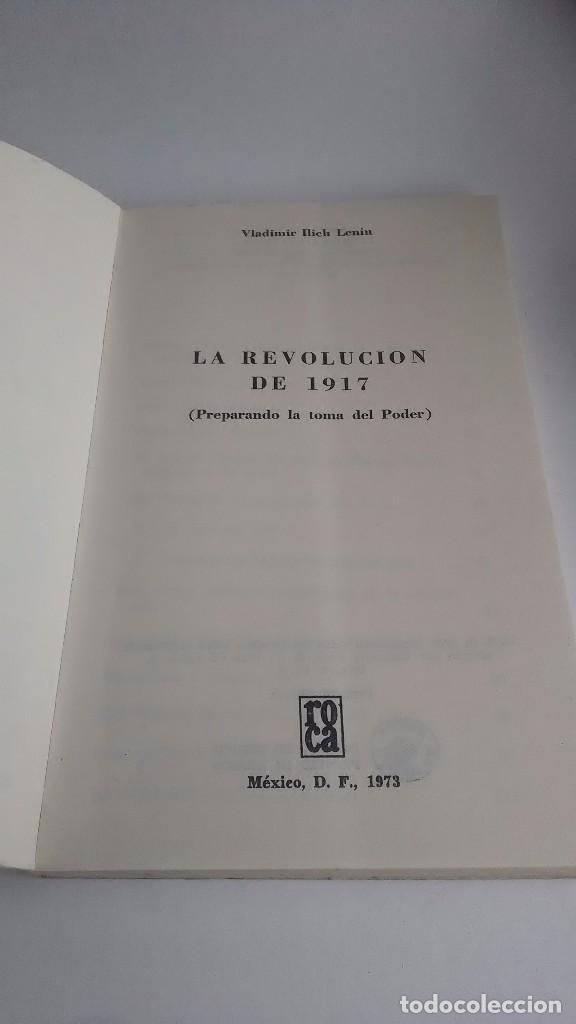 Libros de segunda mano: Lenin. La Revolución Rusa. 1973. Primera edición. Editorial Roca. México. - Foto 2 - 236915620
