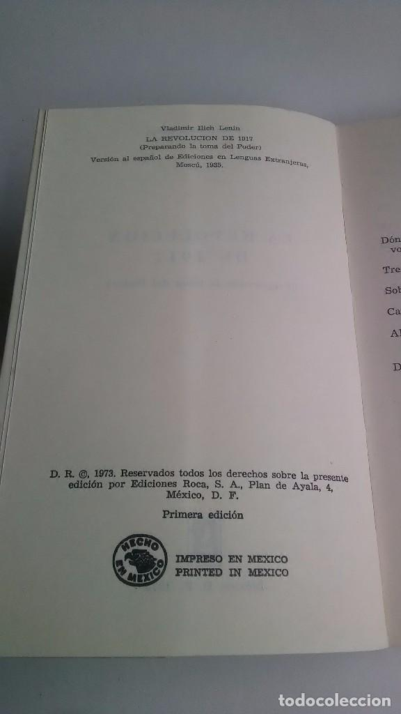 Libros de segunda mano: Lenin. La Revolución Rusa. 1973. Primera edición. Editorial Roca. México. - Foto 3 - 236915620