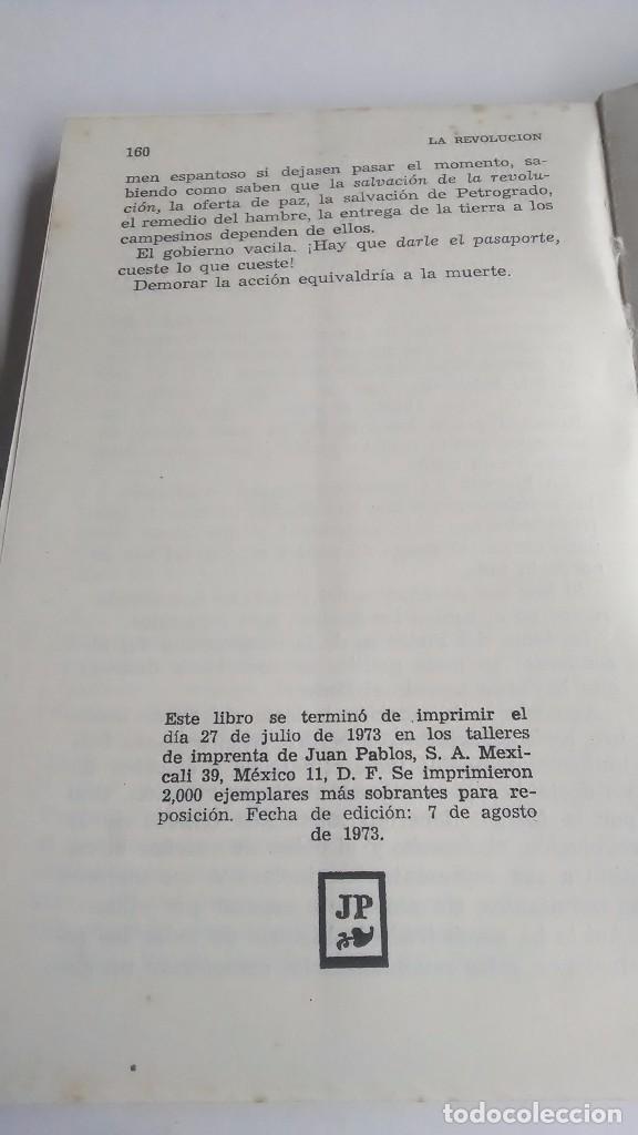 Libros de segunda mano: Lenin. La Revolución Rusa. 1973. Primera edición. Editorial Roca. México. - Foto 6 - 236915620