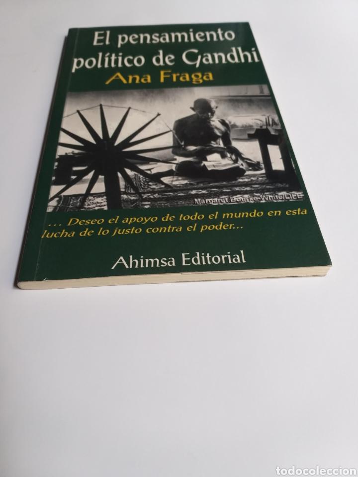Libros de segunda mano: El pensamiento político de Gandhi. Ana Fraga. Ahimsa editorial 2000 - Foto 2 - 236926810