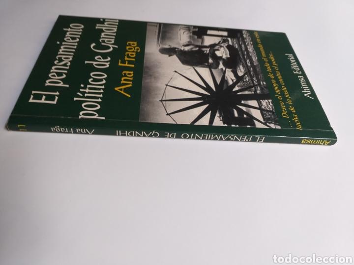 Libros de segunda mano: El pensamiento político de Gandhi. Ana Fraga. Ahimsa editorial 2000 - Foto 3 - 236926810