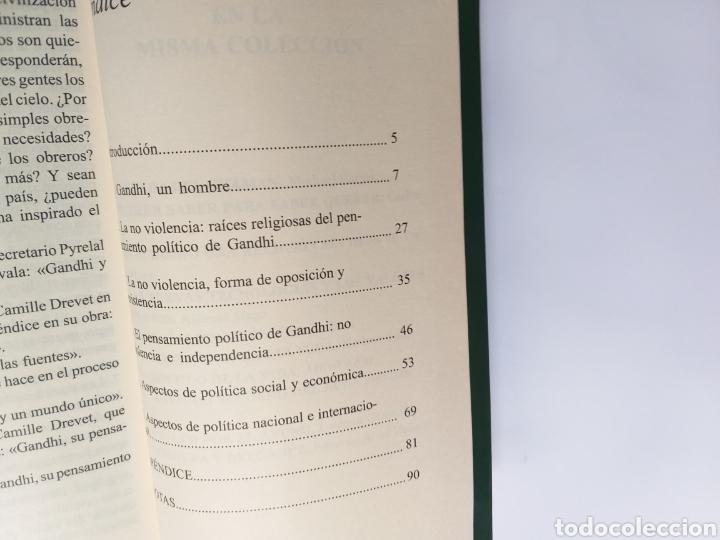 Libros de segunda mano: El pensamiento político de Gandhi. Ana Fraga. Ahimsa editorial 2000 - Foto 8 - 236926810