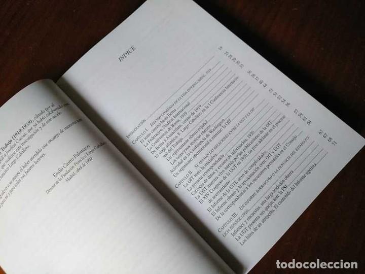 Libros de segunda mano: FRANCISCO LARGO CABALLERO: SU COMPROMISO INTERNACIONAL - JOSEFINA CUESTA BUSTILLO - Foto 12 - 237063385