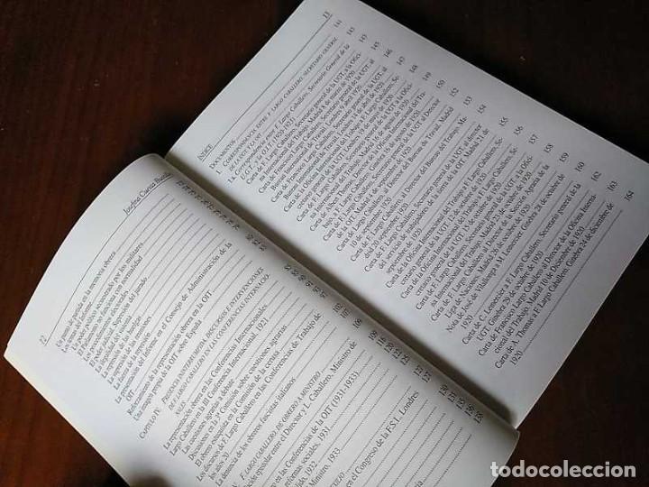 Libros de segunda mano: FRANCISCO LARGO CABALLERO: SU COMPROMISO INTERNACIONAL - JOSEFINA CUESTA BUSTILLO - Foto 19 - 237063385