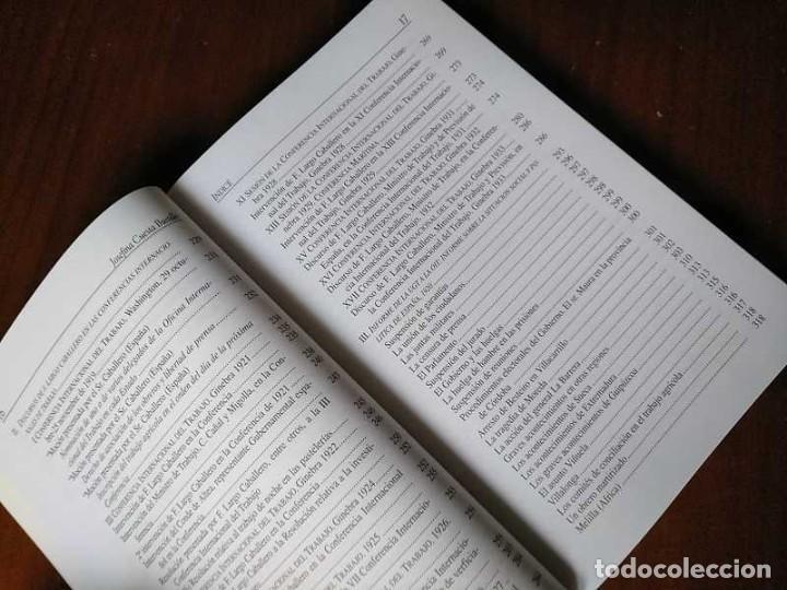 Libros de segunda mano: FRANCISCO LARGO CABALLERO: SU COMPROMISO INTERNACIONAL - JOSEFINA CUESTA BUSTILLO - Foto 21 - 237063385
