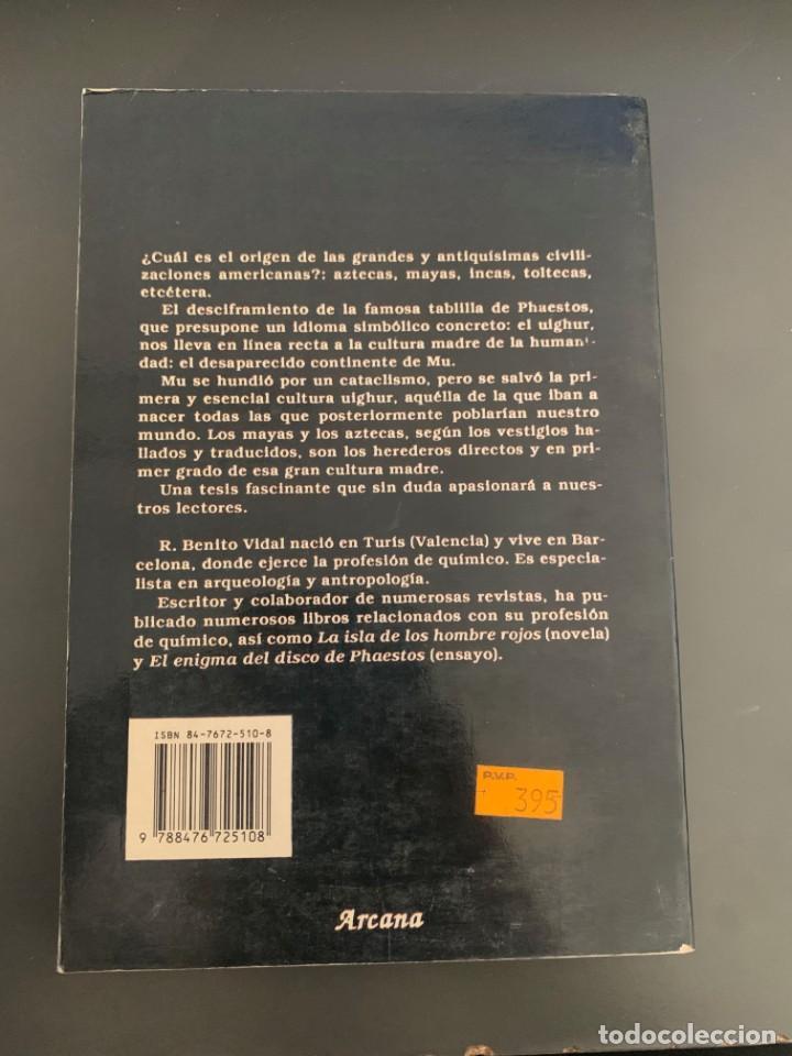 Libros de segunda mano: Benito Vidal, R. - El enigma del hombre americano - Foto 3 - 237898565
