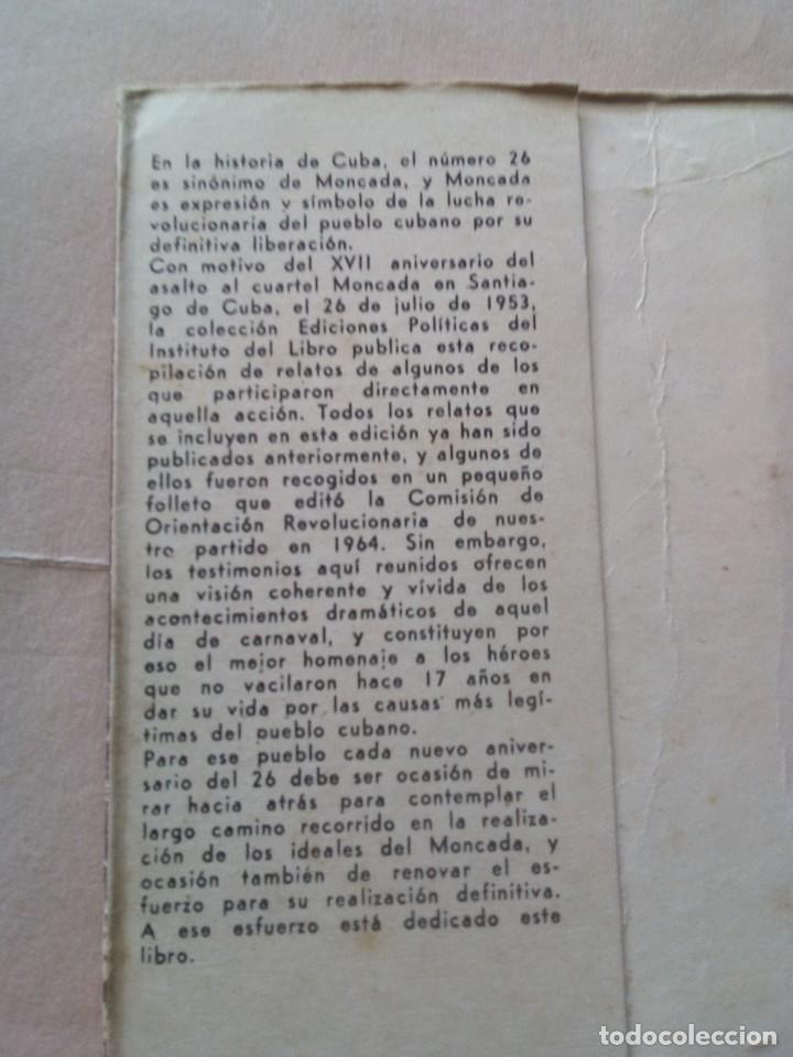 Libros de segunda mano: 26. Cuba.veintiseis. - Foto 2 - 212391803