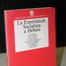 Livres d'occasion: LA EXPERIENCIA SOCIALISTA A DEBATE.- FUNDACIÓN DE INVESTIGACIONES MARXISTAS.. Lote 242038765