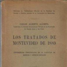 Libros de segunda mano: LOS TRATADOS DE MONTEVIDEO DE 1889. Lote 243808455