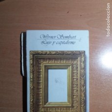 Libros de segunda mano: LUJO Y CAPITALISMO. WERNER SOMBART. ALIANZA EDITORIAL. Lote 244458855