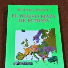 Libros de segunda mano: EL NUEVO MAPA DE EUROPA. MICHAEL EMERSON. Lote 244766810