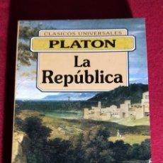 Libros de segunda mano: LA REPUBLICA - PLATON. Lote 245111535