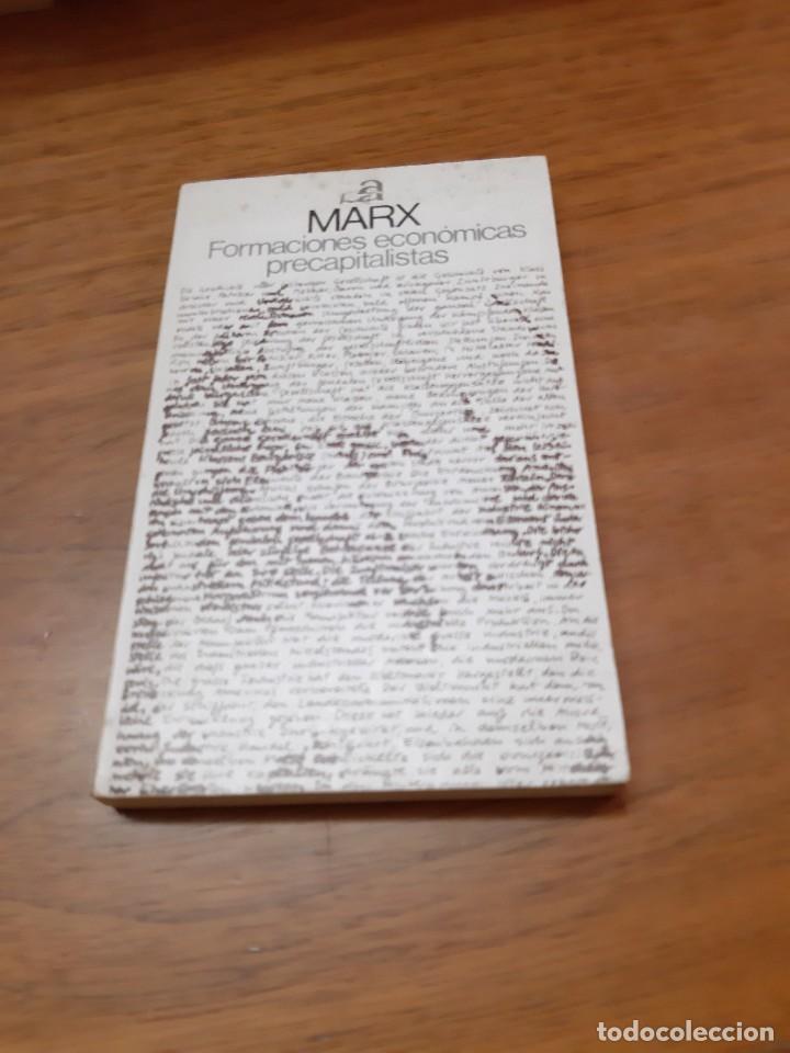 MARX, FORMACIONES ECONÓMICAS PRECAPITALISTAS, AYUSO, MADRID, 1975 (Libros de Segunda Mano - Pensamiento - Política)