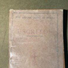 Libros de segunda mano: ESCRITOS. Lote 246130980