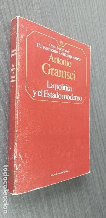 Libros de segunda mano: *** LIBRO . ** LA POLITICA Y EL ESTADO MODERNO ** ANTONIO GRAMSCI. 1985 . Pensamiento Político *** - Foto 4 - 262126025