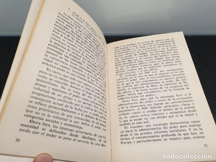 Libros de segunda mano: P.S.P. Una Opción Socialista. Enrique Tierno Galván y Francisco Javier Bobillo. Akal editor 1976. - Foto 3 - 245501490