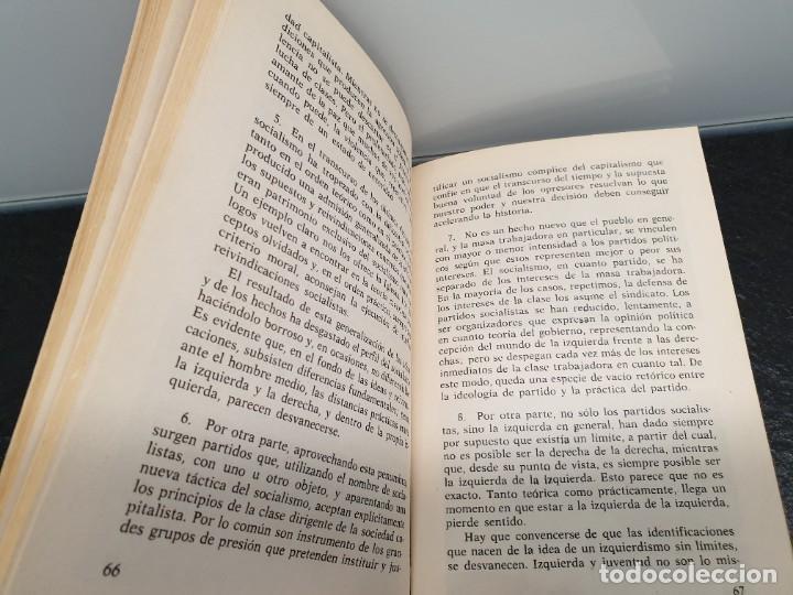 Libros de segunda mano: P.S.P. Una Opción Socialista. Enrique Tierno Galván y Francisco Javier Bobillo. Akal editor 1976. - Foto 5 - 245501490