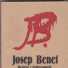 Libros de segunda mano: DESFETA I REDREÇAMENT DE CATALUNYA PER JOSEP BENET EDITORIAL CRITICA. Lote 252733105