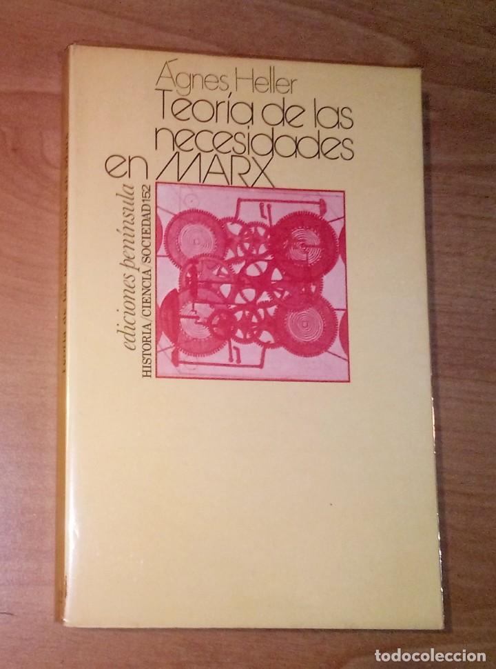 AGNES HELLER - TEORÍA DE LAS NECESIDADES EN MARX - PENÍNSULA, 1978 [PRIMERA EDICIÓN EN ESPAÑA] (Libros de Segunda Mano - Pensamiento - Política)