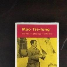 Libros de segunda mano: ESCRITOS SOCIOLÓGICOS Y CULTURALES - MAO ZEDONG. Lote 253866685