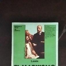 Libros de segunda mano: EL MARXISMO Y EL ESTADO - VLADIMIR ILLICH LENIN. Lote 253867265