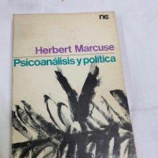 Libros de segunda mano: PSICOANÁLISIS Y POLÍTICA, MARCUS. Lote 259894320
