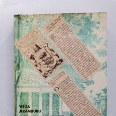 Libros de segunda mano: EL ORGULLO PERDIDO VEGA ARÁMBURU POR QUÉ MATA ETA 1997. Lote 261108200