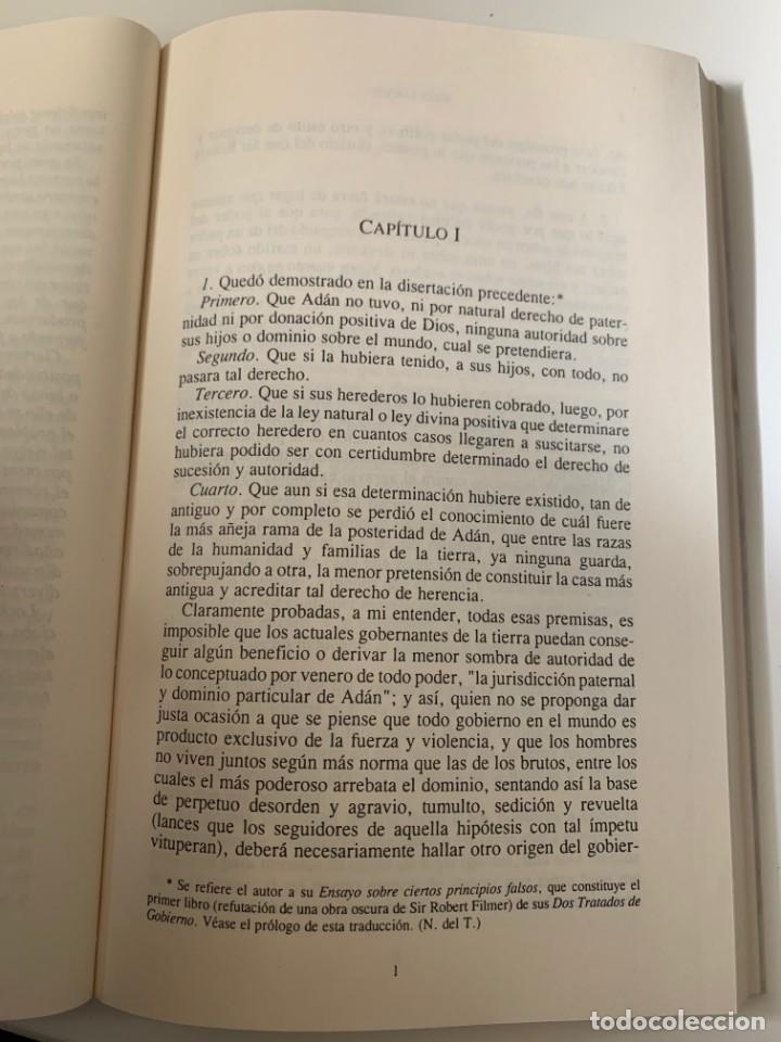 Libros de segunda mano: LOCKE, JOHN - ENSAYO SOBRE EL GOBIERNO CIVIL - Editorial Porrua - Foto 3 - 262120410