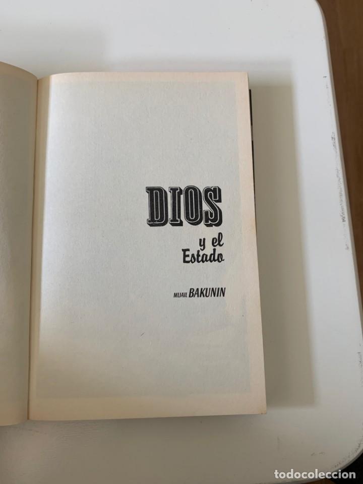 Libros de segunda mano: Dios y el estado - Mijail Bakunin- Diario Público - Barcelona 2009 - Foto 5 - 262126485