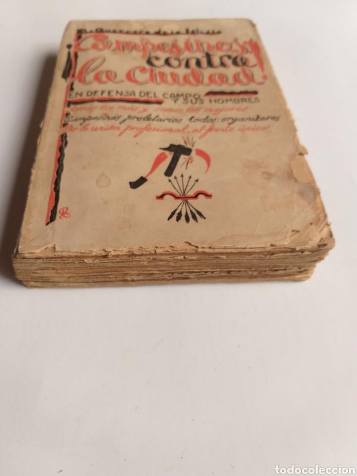 Libros de segunda mano: Campesinos contra la ciudad.. Daniel Guerrero de la Iglesia . Historia siglo XX - Foto 2 - 262368520