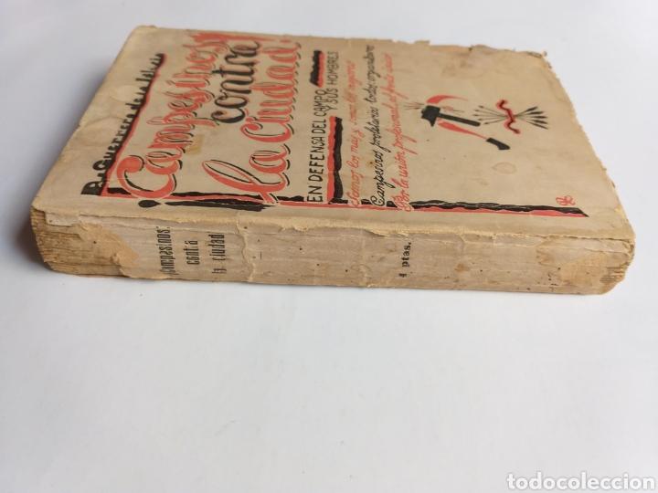 Libros de segunda mano: Campesinos contra la ciudad.. Daniel Guerrero de la Iglesia . Historia siglo XX - Foto 3 - 262368520