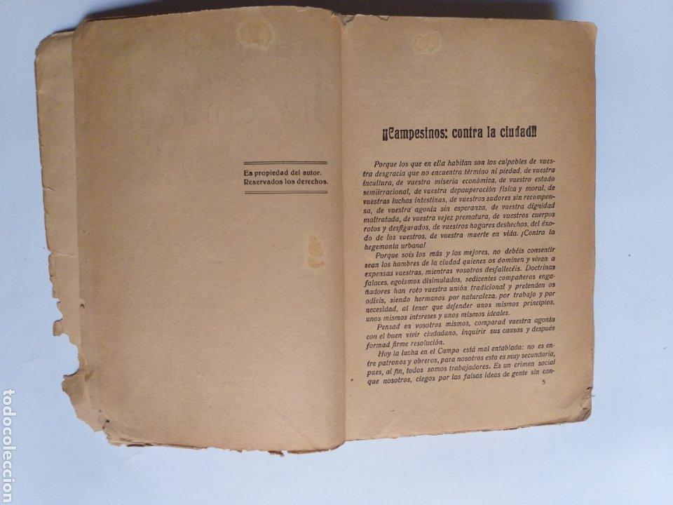 Libros de segunda mano: Campesinos contra la ciudad.. Daniel Guerrero de la Iglesia . Historia siglo XX - Foto 11 - 262368520