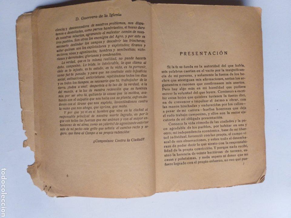 Libros de segunda mano: Campesinos contra la ciudad.. Daniel Guerrero de la Iglesia . Historia siglo XX - Foto 12 - 262368520