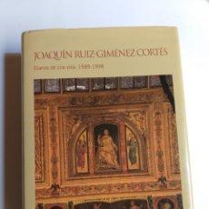Libros de segunda mano: JOAQUÍN RUIZ-GIMÉNEZ CORTÉS. DIARIOS DE UNA VIDA 1989 1998 TOMÓ III. Lote 262922680